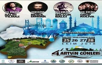Artvin tanıtım günleri İstanbul Maltepe sahili etkinlik alanında başlıyor