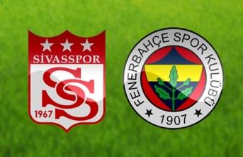 Fenerbahçe Sivas Deplasmanında Kayboldu