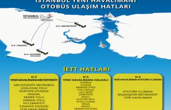 İETT, Yeni Havalimanı'na otobüs seferleri ile ücretlerini açıkladı