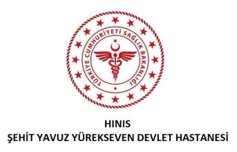 Hınıs Şehit Yavuz Yürekseven Devlet Hastanesi
