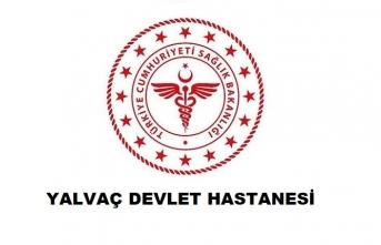 Yalvaç Devlet Hastanesi