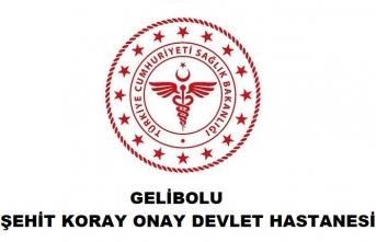 Gelibolu Şehit Koray Onay Devlet Hastanesi