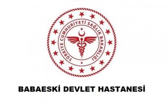 Babaeski Devlet Hastanesi
