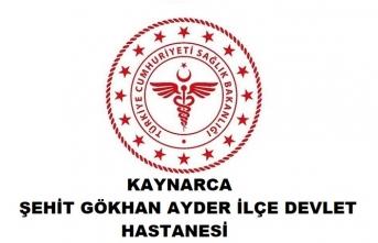 Kaynarca Şehit Gökhan Ayder Devlet Hastanesi