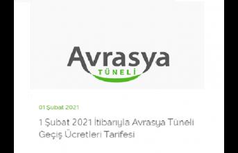 Avrasya Tüneli ve İstanbul Boğaz Köprülerinin Güncel Ücret Tarifesi