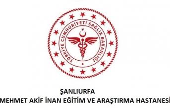 Şanlıurfa Mehmet Akif İnan Eğitim ve Araştırma Hastanesi