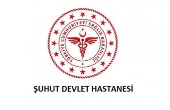 Şuhut Devlet Hastanesi