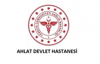 Ahlat Devlet Hastanesi