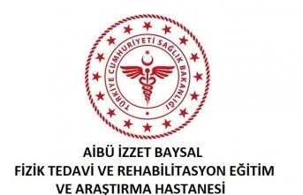İzzet Baysal Fizik Tedavi ve Rehabilitasyon Eğitim ve Araştırma Hastanesi