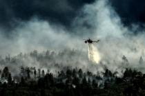 İzmir'deki Orman Yangını 3 Gündür Devam Ediyor