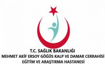 Mehmet Akif Ersoy Göğüs Kalp ve Damar Cerrahisi Hastanesi
