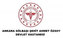 Gölbaşı Şehit Ahmet Özsoy Devlet Hastanesi