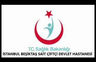İstanbul Beşiktaş Sait Çiftçi Devlet Hastanesi