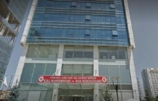 Ankara Adalet Sarayı Söğütözü Ek Hizmet Binası