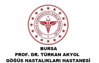 Bursa Prof. Dr. Türkan Akyol Göğüs Hastalıkları...