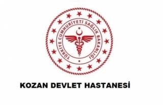 Kozan Devlet Hastanesi