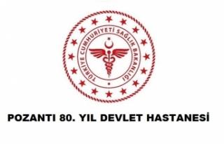 Pozantı 80. Yıl Devlet Hastanesi