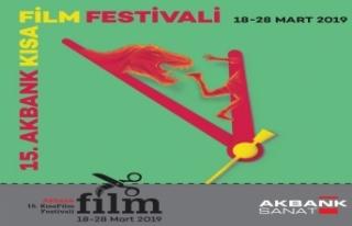 Akbank Kısa Film Festivali 18-28 Mart tarihleri arasında...