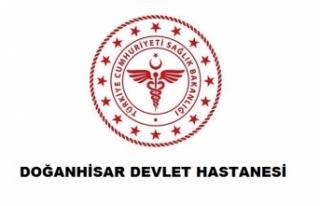 Doğanhisar Devlet Hastanesi