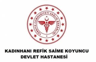Kadınhanı Refik Saime Koyuncu Devlet Hastanesi