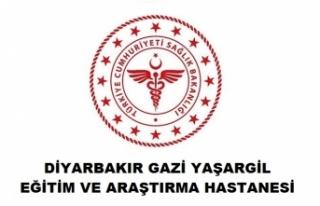 Diyarbakır Gazi Yaşargil Eğitim ve Araştırma...