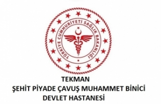 Tekman Şehit Piyade Çavuş Muhammet Binici Devlet...