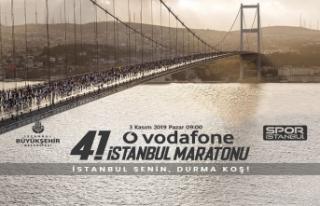 Vodafone 41. İstanbul Maratonu Geri Sayımı Başladı