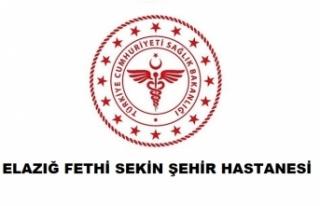 Elazığ Fethi Sekin Şehir Hastanesi
