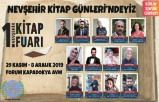 Nevşehir 1. Kitap Fuarı Kapılarını Açıyor