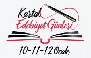Kartal Edebiyat Günleri 10-12 Ocak tarihlerinde gerçekleşecek