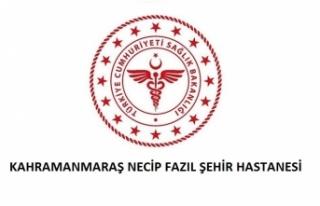 Kahramanmaraş Necip Fazıl Şehir Hastanesi