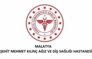 Malatya Şehit Mehmet Kılınç Ağız ve Diş Sağlığı...