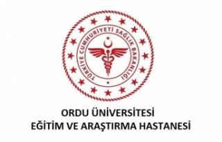 Ordu Üniversitesi Eğitim ve Araştırma Hastanesi