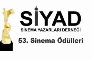 SİYAD 53. Sinema Ödülleri Adayları Açıklandı