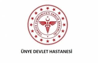 Ünye Devlet Hastanesi