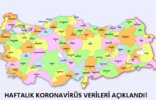 Koronavirüs Risk Haritası Açıklandı. Artış...
