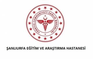 Şanlıurfa Eğitim ve Araştırma Hastanesi