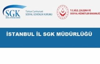 SGK İstanbul İl Müdürlüğü