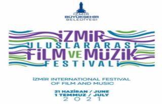 İzmir Uluslararası Film ve Müzik Festivali 21 Haziran'da...