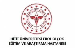 Hitit Üniversitesi Erol Olçok Eğitim ve Araştırma...