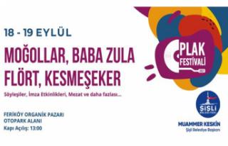 Şişli Plak Festivali Bu Yıl İlk Kez Düzenleniyor