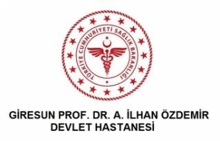 Giresun Prof. Dr. A. İlhan Özdemir Devlet Hastanesi