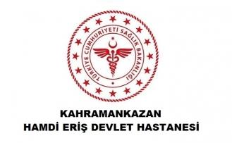 Kahramankazan Hamdi Eriş Devlet Hastanesi