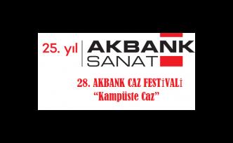 Akbank Caz Festivali üniversitelerde başlıyor!