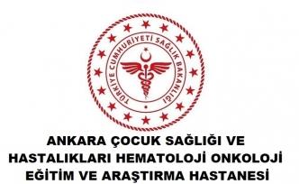 Ankara Çocuk Hastalıkları Hematoloji Eğitim ve Araştırma Hastanesi
