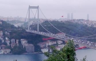 Fatih Sultan Mehmet Köprüsü'nde 4 şerit kapatılacak