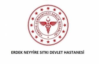 Erdek Neyyire Sıtkı Devlet Hastanesi