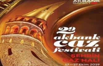 29. Akbank Caz Festivali 17 Ekim'de başlıyor.