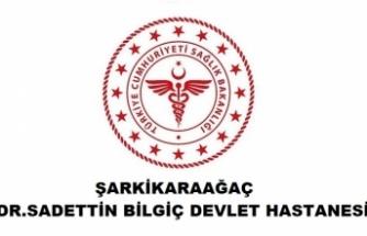 Şarkikaraağaç Dr. Sadettin Bilgiç Devlet Hastanesi
