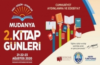 Mudanya 2. Kitap Günleri Başlıyor
